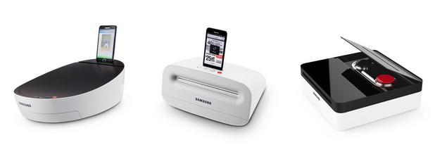 Концептуалните принтери на Samsung, показани на IFA 2013, предлага функции за мобилен печат