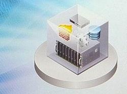 При софтуерния център за данни инфраструктурата е виртуализирана и се предлага като услуга, а контролът е автоматизиран напълно от софтуера