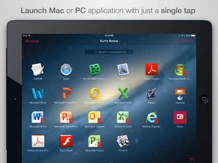 Parallels Access позволява отдалечена работа от iPad с приложения за Mac OS X и Windows
