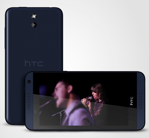 4,7-инчовият капацитивен тъчскрийн на HTC Desire 610 има резолюция qHD 540x960 пиксела и плътност 234 ppi