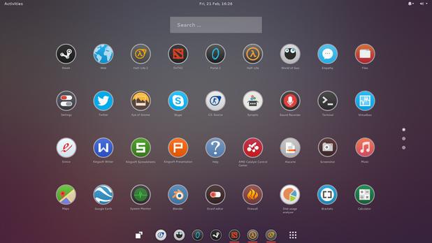 Интерфейсът на Ozon OS e минималистичен и модерен