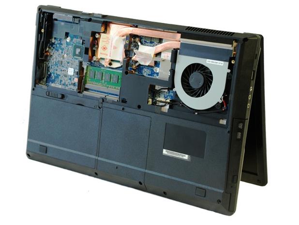 Eurocom Shark 3 стъпва на четвърто поколение процесор Intel Core i7-4940MX Extreme