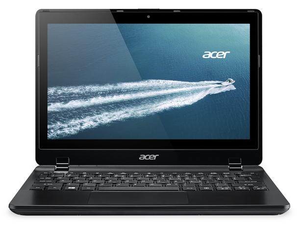 Acer TravelMate B115P идва с интуитивен HD мултитъч дисплей, пълноразмерна клавиатура и голям и прецизен тъчпад