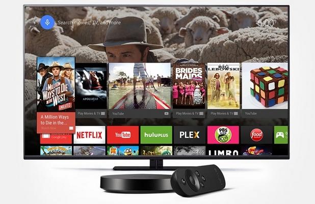 "Платформата Android TV има опростен интерфейс на базата на ""плочки"""