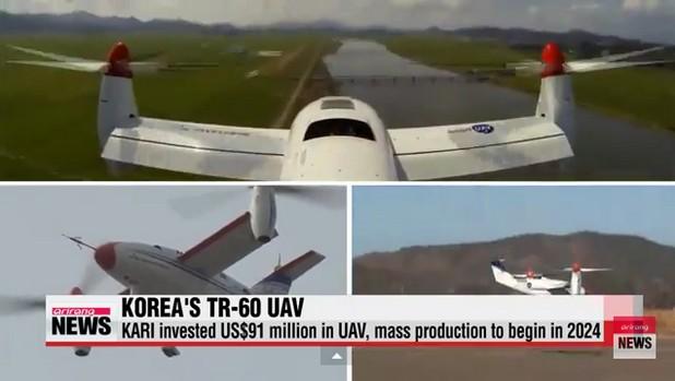 TR-60 вероятно е най-бързият дрон в света със своите близо 500 км/ч и цели 6 часа летене на максимална скорост