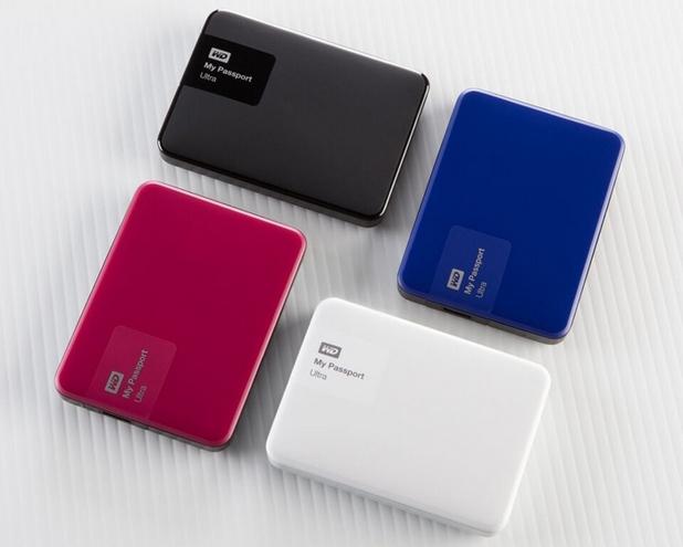 Устройствата My Passport Ultra ще се предлагат във варианти с капацитет 500GB, 1TB, 2TB и 3TB в четири цвята