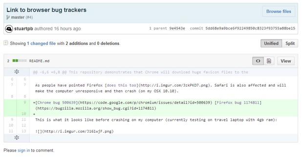 Потребител в GitHub алармира за сериозна грешка в популярни браузъри