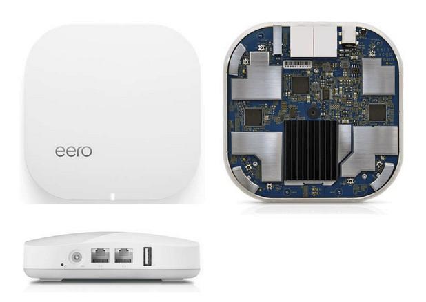 Всяко устройство eero поддържа 2x2 MIMO IEEE 802.11a/b/g/n/ac (2,4 и 5 GHz) и Bluetooth Smart Ready, има два порта Gigabit Ethernet и един USB 2.0