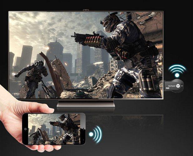 EasyCast OTA Display Dongle се явява най-лесният начин за споделяне на съдражание на големия екран от различните джаджи у дома