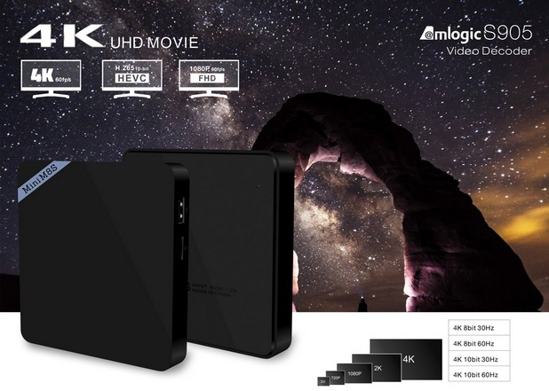 Mini M8S TV Box превръща телевизора в мултимедиен център за пълноценно потребителско изживяване