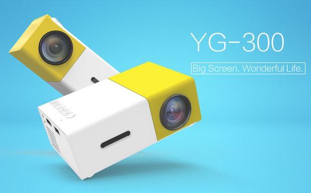 YG-300 LCD Projector ще ви осигури домашно кино на невероятно достъпна цена