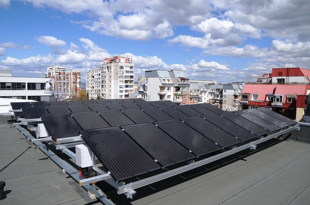 Фотоволтаична инсталация е изградена на територията на Центъра за контрол и управление на мрежата