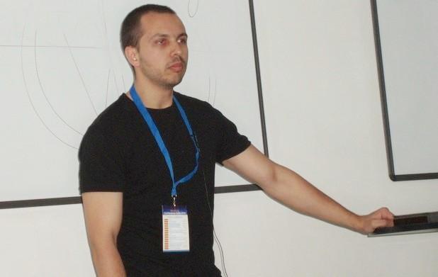 Христо Чакъров, специалист в уеб разработките, сподели опит в създаването на плъгини пред аудиторията на конференцията WordUp!