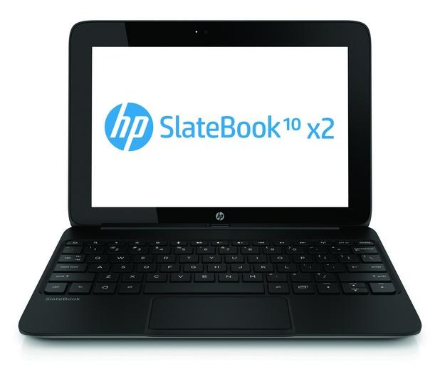 HP SlateBook x2 предоставя сензорен дисплей с диагонал 10,1 инча и висока резолюция