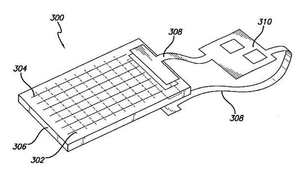 Двустранният сензорен панел на Apple има потенциал да намали размерите на мобилните устройства