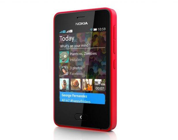 Nokia Asha 501 се позиционира в категорията на евтините смартфони с цена под 100 долара