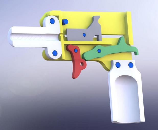 Персоналните оръжия-еднодневки ще станат масово достъпни, благодарение на 3D принтерите