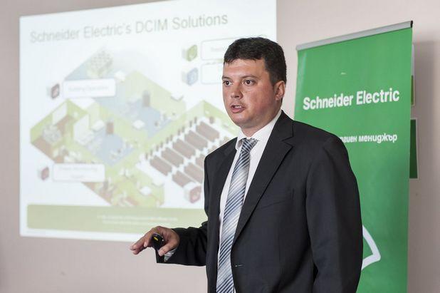 За бизнеса има значение всеки ват електроенергия и всеки метър пространство, заяви Петър Николов от Шнайдер Електрик България ЕООД