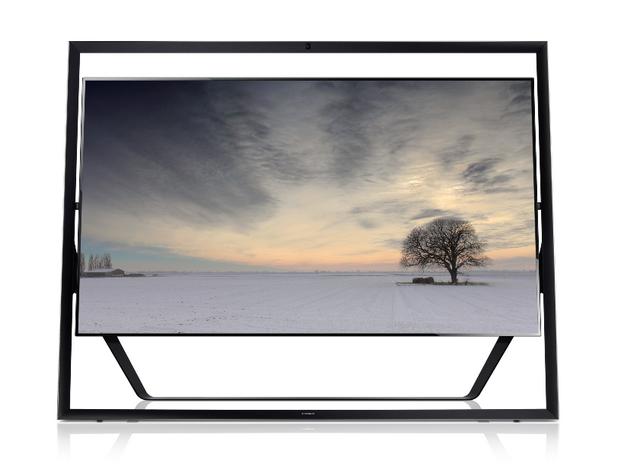 Екранът на Samsung 85S9 UHD TV е хипнотизиращ - този телевизор има четири пъти повече пиксели от познатите до момента Full HD модели
