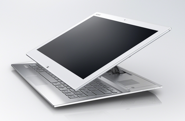 Sony Vaio Duo 13 може да работи като сензорен ултрабук и таблет
