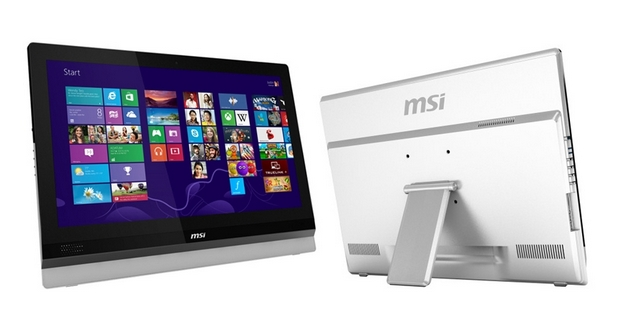 Сензорният MSI Adora24 работи под управление на операционна система Windows 8