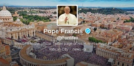 Папа Франциск опростява част от греховете на своите последователи в Twitter