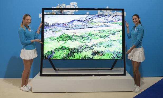Samsung показа огромен UHD телевизор на форума си в Монако по-рано тази година