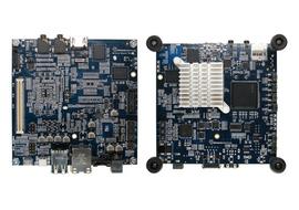 Едноплатковият компютър MinnowBoard работи под управление на Linux и е направен от достъпни компоненти