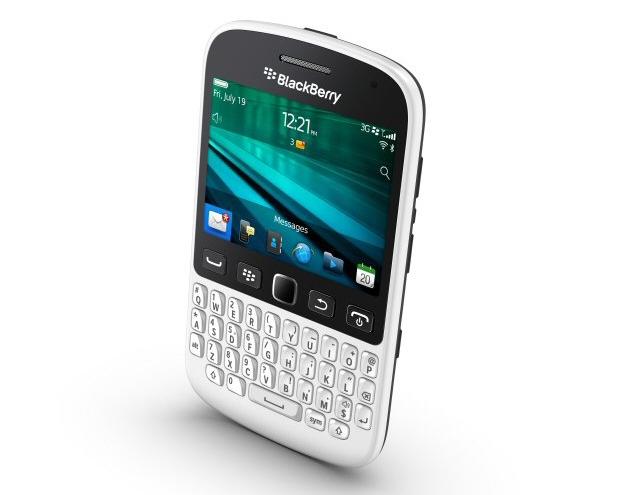 BlackBerry 9720  ще се продава в пет цветови варианта, вкл. бял, черен, син, розов и виолетов