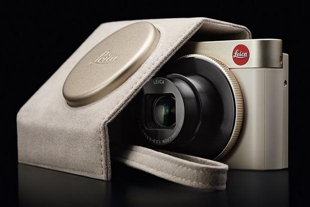 Leica се слави като луксозен бранд, с качествени камери и лещи