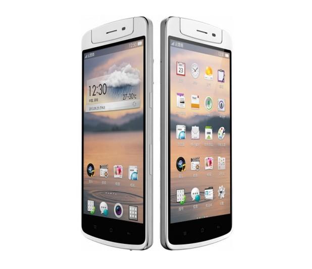 Oppo N1 предоставя голям, 5,9-инчов екран с резолюция Full HD 1080p