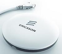 Ericsson Radio Dot System тежи 300 грама и осигурява мобилен широколентов достъп в затворени пространства