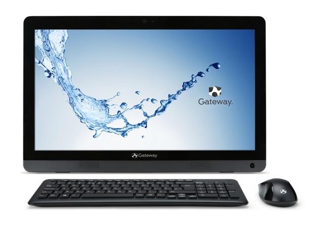 Gateway One ZX4270 предоставя 19,5-инчов екран и разчита на хибриден AMD процесор