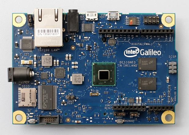 Платката за Intel Galileo е инструмент за бързо прототипиране на прости интерактивни дизайни и по-сложни проекти