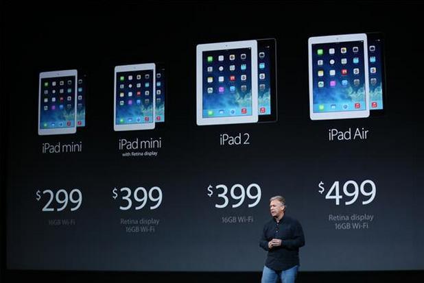 Apple обяви нови iPad Air и iPad Mini с Retina дисплей, като същевременно намали цените на техните предшественици (снимка: CNET)