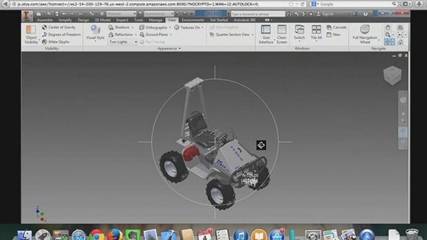 За работа със сложните 3D приложения за дизайн вече са достатъчни само уеб браузър и интернет връзка