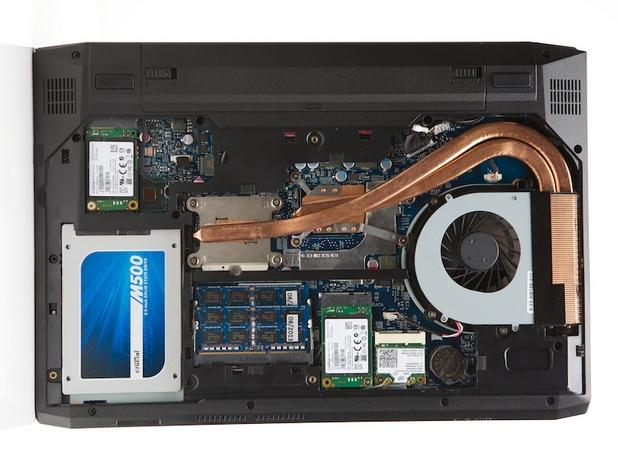 Купувачите могат да избират между процесори от четвърто поколение Intel Core i5, i7 и i7 Extreme, работещи с чипсет Intel HM87 Express Chipset