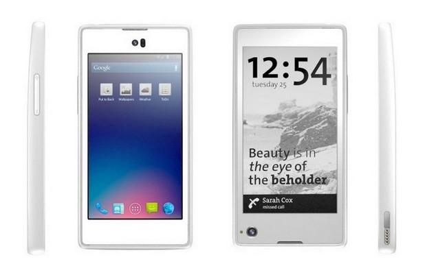Смартфонът с екрани от двете страни е новаторски подход, на който залага Yota Devices