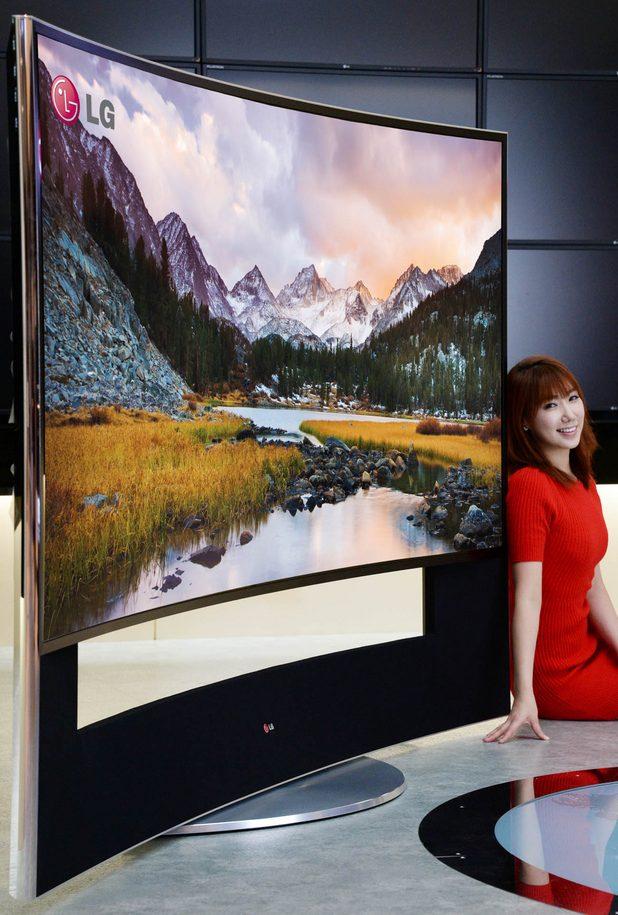 LG 105UB9 ще дебютира на изложението за потребителска електроника CES 2014 в Лас Вегас през януари