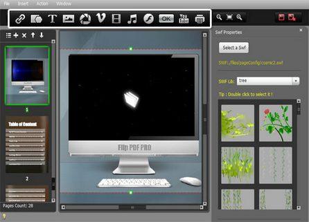 Flip PDF Professional позволява лесно създаване на пълноценни е-книги