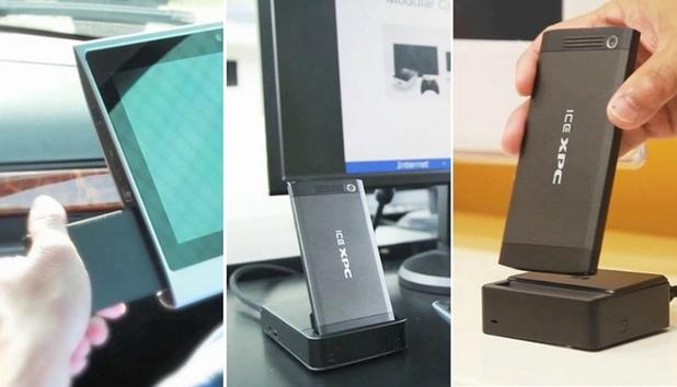 С помощта на ICE xAdapter устройството може да стане десктоп компютър или геюймърски телевизор