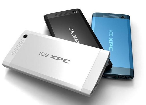 Основният компонент на ICE xPC е изчислителен блок, сравним по размери с обикновен смартфон