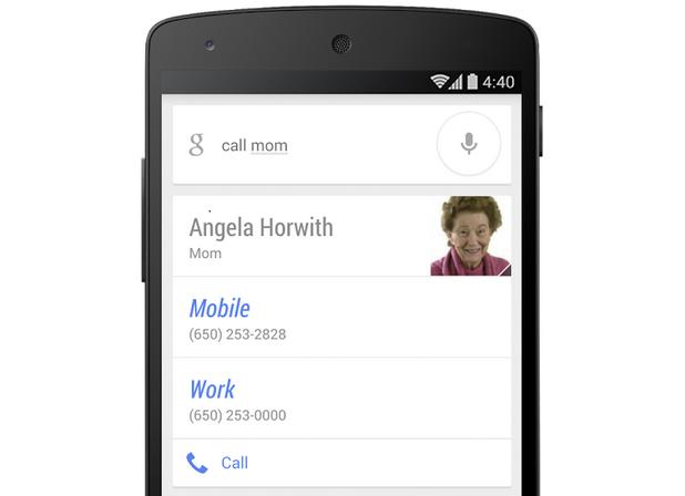 Знаейки връзките ви с някои хора от телефонния списък, гласовият софтуер ще ви позволи да се свързвате много по-лесно с тях