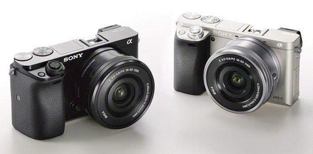 Sony A6000 се очаква на пазара в два цвята – сребрист и черен