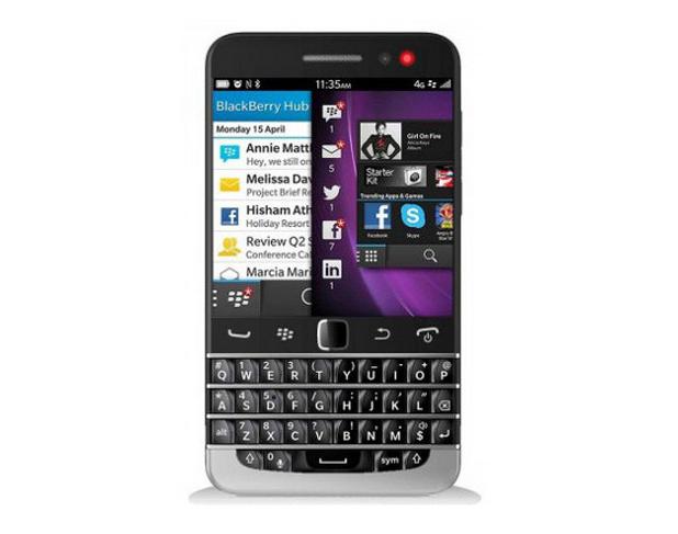 BlackBerry Q20 има 3,5-инчов капацитивен тъчскрийн, който е най-големият сред устройствата с операционна система BlackBerry 10 и физическа QWERTY клавиатура