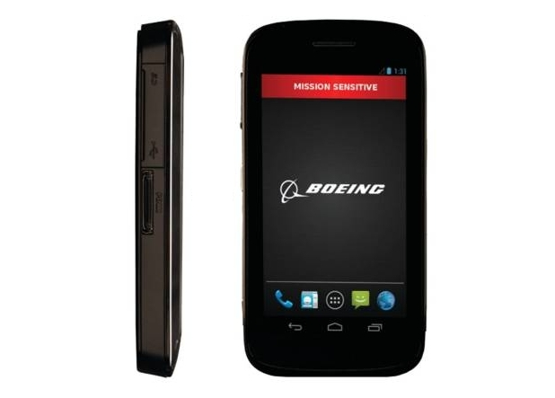 Boeing Black е проектиран според изискванията за сигурност на тайните служби