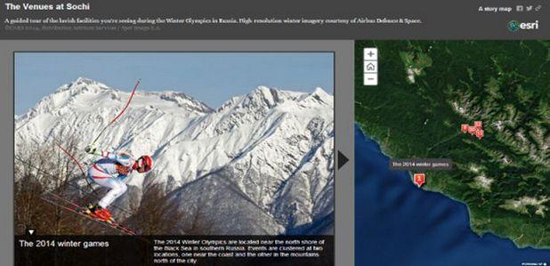 Картите дават статистическа информация, служат за туристически гид и разказват истории