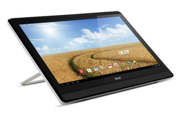 Моноблок компютърът на Acer предоставя голям екран и работи под управление на Android