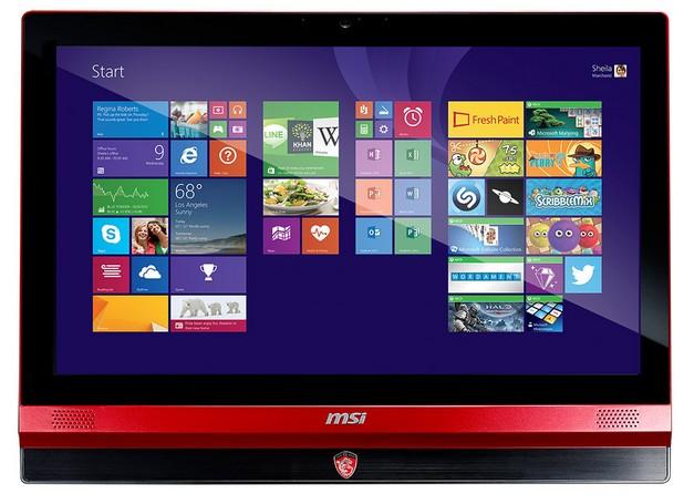 Екраните на 21,5-инчовия AG220 и 23,6-инчовия AG240 поддържат резолюция Full HD LCD (1920x1080 пиксела) с мултитъч и LED осветяване
