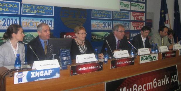 В момента стагнацията е основен проблем на българската икономика, заявиха учени от БАН при представяне на годишния доклад за икономическото развитие на страната (снимка: БАН)